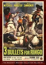 3 BULLETS FOR RINGO GORDON MITCHELL  WILD EAST PRODUCTION NEW SEALED DVD OOP