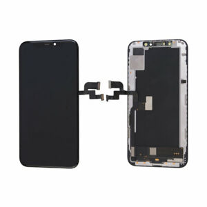 """OLED Display LCD Touch Screen Digitizer Assembly+Frame For iPhone XS 5.8"""" Black"""
