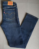 Damen Jeans LEVIS LEVI´S 712 Slim 18884-0084 Indigo Stars W27 L32