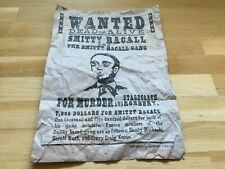 WANTED Smitty Bacall A4 vintage poster Django Unchained Quentin TARANTINO