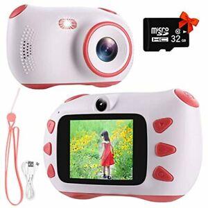 RUMIA Kinderkamera Digitalkamera Fotoapparat Kinder für Jungen Mädchen 1080P F