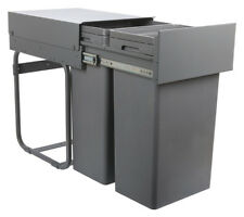 Vibo Kitchen Pull Out Waste Bin for Hinged Door Cabinet min 400mm Unit