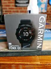 Garmin Fenix 6X Pro 51mm Case with Silicone Band GPS Running Watch