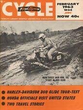 1963 February Cycle - Vintage Motorcycle Magazine