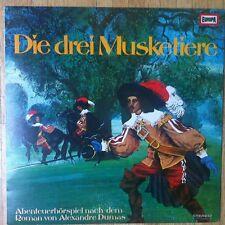 KURT HOLST Alexandre Dumas Die drei Musketiere LP/GER
