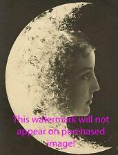 Old VINTAGE Antique MOON CHILD Photo Reprint