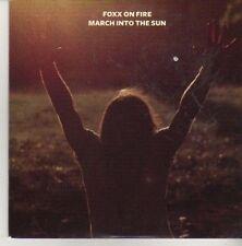 (CV245) Foxx On Fire, March Into The Sun - 2011 DJ CD