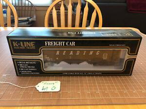 K-Line Kline Train DIECAST READING RDG Hopper 40387 w/BottomGates EXCELLENT LotO