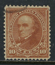 SCOTT 283 1898 10 CENT WEBSTER REGULAR ISSUE TYPE II USED VF!