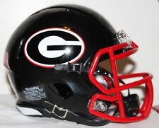 2009 Georgia Bulldogs Black Alternate Custom Riddell Mini Helmet vs Florida