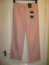 Marks and Spencer Linen Regular Mid Trousers for Women