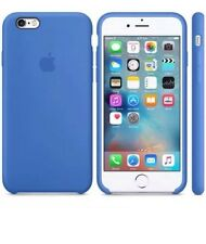 NEW - Genuine Silicone Case for Apple iPhone 6s / 6 in Royal Blue