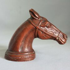 Vintage HORSE HEAD BOTTLE CAP OPENER Equestrian BREWERY Beer COLLECTIBLE BAR