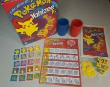 Vintage Pokemon Yahtzee Jr Game by Milton Bradley Hasbro 1999