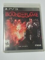 PS3 - Bound by Flame - Good Condition - Manual Included