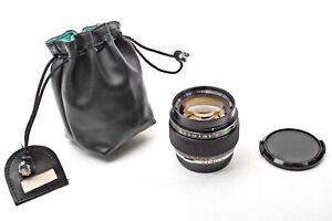 Olympus Zuiko Auto-S 55mm F1.2 OM Manual 55/1.2 Prime 50 Lens+SUPER FAST+SHARP