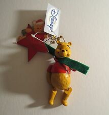 Winnie The Pooh Jointed Christmas Ornament New With Tags