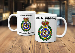 South Central Ambulance Service (SCAS) Personalised Coffee/Tea Mug
