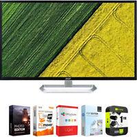 "Acer EB321HQ Awi 32"" Full HD 1920x1080 Widescreen IPS Monitor + Warranty Bundle"