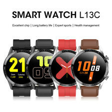 L13C Sports Smart Watch Blood Pressure Oxygen Monitor Fitness Tracker Waterproof