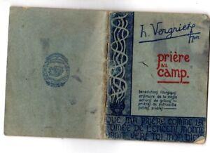 Prière au camp Vergriete 1945 SCOUT Religion Ni Signe de Piste ni Joubert