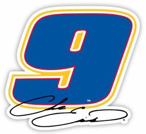 NASCAR Driver Number Decal-Chase Elliott #9 Die Cut Sticker