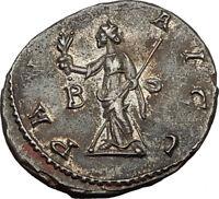 CARUS 282AD Lugdunum Authentic Ancient Roman Coin PAX Peace Goddess i65454