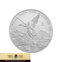 """2020 Mexico 1oz Silver Libertad Onza - BU *Treasure Coin Of Mexico ™""""Pre-Sale"""