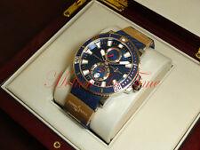 Ulysse Nardin Maxi Marine Diver Titanium & 18kt Rose Gold 45mm Ref: 265-90-3/93
