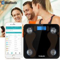 Körperfettwaage, Bluetooth Personenwaage mit App, Smart Digitale Waage, 8 IN 1