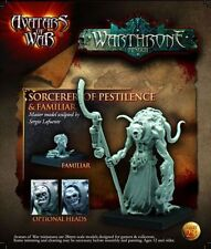 Avatars of War: Nurgle Sorcerer of Pestilence with Familiar - AOW23 - Character