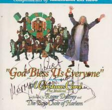 Roder Daltrey: God Bless Us Everyone SIGNED PROMO w/ Artwork MUSIC CD of The Who