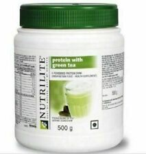 Amway Nutrilite Protein Powder With Green Tea Powerful Antioxidant (500 gm) l