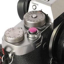 Selens Shutter Button Soft Release Metal Convex Pink Fuji XT3 X-Pro1 X-Pro3
