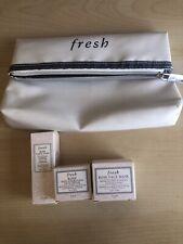 Fresh Travel Set (Rose Face Mask, Deep Hydration Face Cream, Floral Toner) + Bag