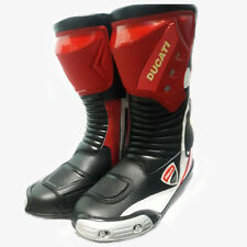 Ducati Motorbike Leather Corse Boots Motorcycle Racing Shoes MotoGP