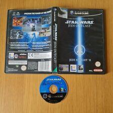 STAR WARS JEDI KNIGHT II (2): JEDI OUTCAST NINTENDO GAMECUBE PAL BOXED NO MANUAL