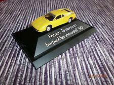 """Herpa 1:87 Ferrari Testarossa """"Consumenta '90"""" EXCLUSIV in OVP unbespielt"""