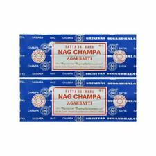 Satya Sai Baba Nag Champa Incense Stick Agarbatti Original 250 gm, Pack Of 2 Pcs