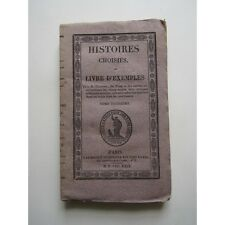HISTOIRES CHOISIES ou LIVRE D'EXEMPLES, TOME 3, 1829