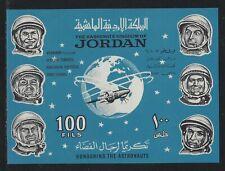 1965 Jordan Scott #496b - Overprinted Souvenir Sheet Honoring Cosmonauts - MNH