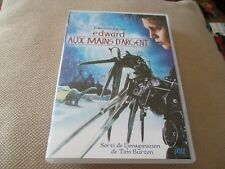 "DVD ""EDWARD AUX MAINS D'ARGENT"" Johnny DEPP, Winona RYDER / Tim BURTON"