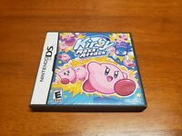 Kirby Mass Attack (Nintendo DS) Original Case and Manual Only