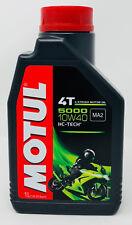 Lubricante Aceite Moto 4 tiempos Semi Syn MOTUL 5000 4T 10W40, 1 litro