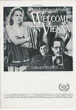 """CPM -Carte postale Affiche de film"""" WELCOME IN VIENNA """" N°A-C 1225"""