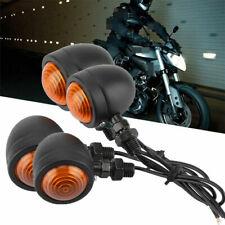 4x Universal Motorcycle Motorbike Blinkers Turn Signal Indicator Light Lamp AU