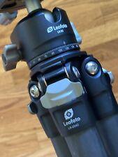 Leofoto LS-254c  Carbon Fiber Tripod w/ LH-30 Ballhead & Camera Plate. MINT