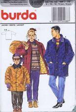 Burda 4488 Sewing Pattern Boys Jackets Coats Size 8 10 12 14 16