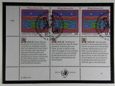 unicef 1993 Briefmarken Menschenrechte - Wien  ST