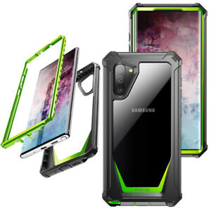 For Samsaung Galaxy Note 10 Case,Poetic[ShockAbsorbing] ProtectionCover Green
